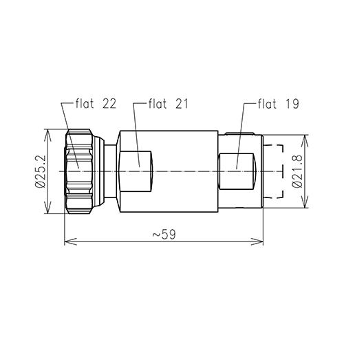 Разъем для фидерных кабелей BN 431168