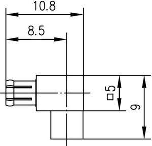 Разъем для полужёстких кабелей J01270A0331