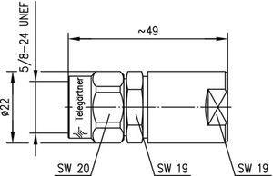 Разъем для фидерных кабелей J01020A0031