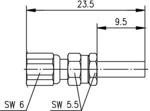 Разъем для гибких кабелей J01171A0011