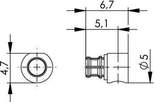 Разъем для полужёстких кабелей J01391A0001
