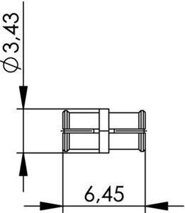Внутрисерийный ВЧ адаптер J01392A0001