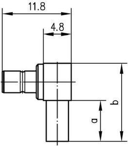 Разъем для гибких кабелей J01160A0558