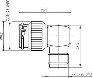 Внутрисерийный ВЧ адаптер J01014A0001