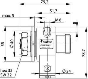 Грозоразрядник с четвертьволновым отрезком J01125B0031