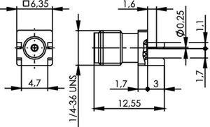 Разъем для печатных плат J01151A1271