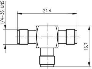 Внутрисерийный ВЧ адаптер J01155A0011