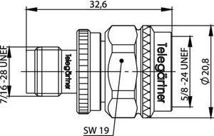 Междусерийный ВЧ адаптер J01019C0007