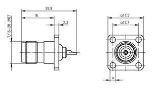 Разъем для гибких кабелей J01011A2337