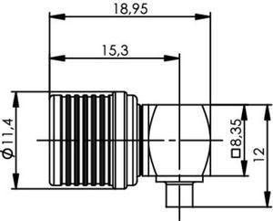 Разъем для полужёстких кабелей J01420A0125