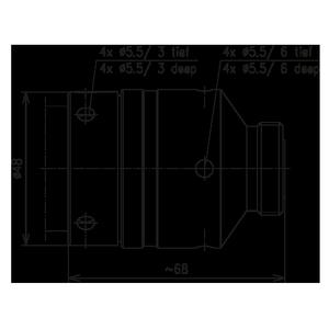 Разъем для фидерных кабелей BN 655642