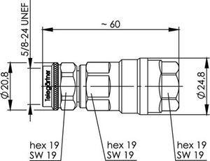 Разъем для фидерных кабелей J01020G0143