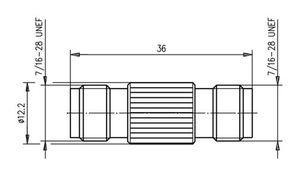 Внутрисерийный ВЧ адаптер J01014A2618