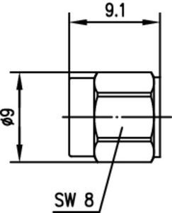 Разъем для полужёстких кабелей J01150B0111