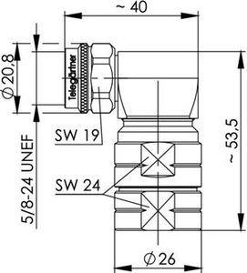 Разъем для гибких кабелей J01020A0149