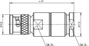 Разъем для гибких кабелей J01002A1940