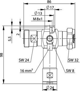 Грозоразрядник с четвертьволновым отрезком J01125A0039