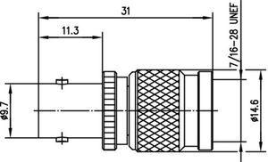 Междусерийный ВЧ адаптер J01019B0000