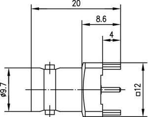 Разъем для печатных плат J01003A1946