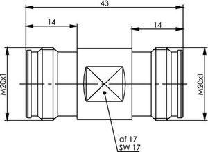 Внутрисерийный ВЧ адаптер J01442A0001