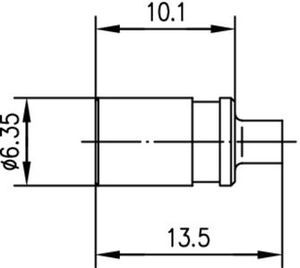 Разъем для полужёстких кабелей J01161A0321