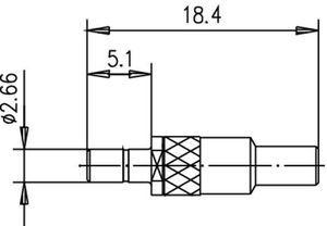 Разъем для гибких кабелей J01190A0051