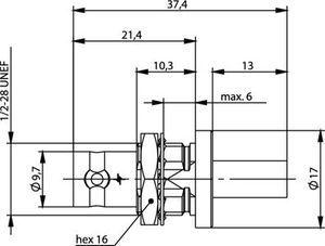 Разъем для гибких кабелей J01001A0056