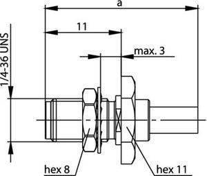 Разъем для гибких кабелей J01151A0019