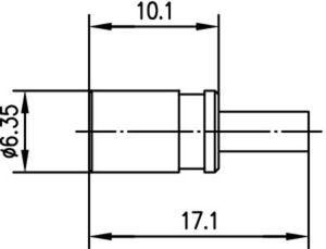 Разъем для гибких кабелей J01161A0698