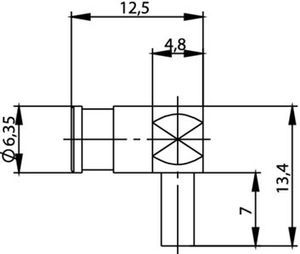 Разъем для гибких кабелей J01161A0091