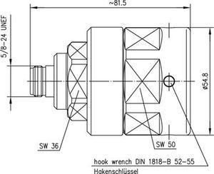 Разъем для фидерных кабелей J01021G0178