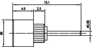 Разъем панельный J01271A0219