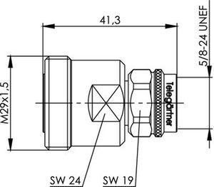 Междусерийный ВЧ адаптер J01122C0011