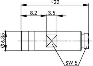 Разъем для гибких кабелей J01161A0741