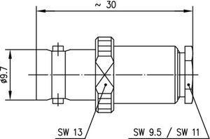 Разъем для гибких кабелей J01001A0032