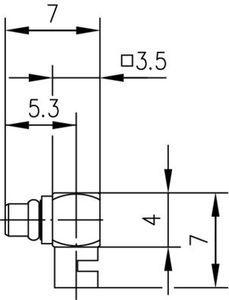 Разъем для полужёстких кабелей J01340A0021