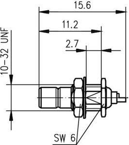 Разъем панельный J01160A0031