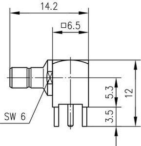 Разъем для печатных плат J01160A0238