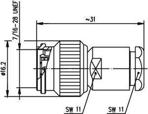 Разъем для гибких кабелей J01010A2611