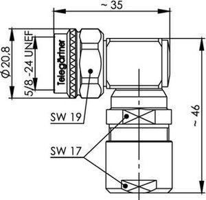 Разъем для фидерных кабелей J01020C0141