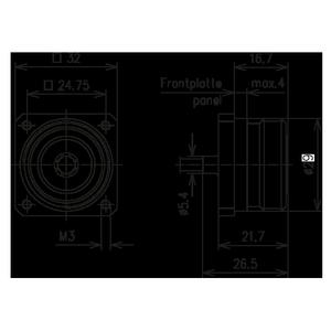 Разъем для полужёстких кабелей BN 807706