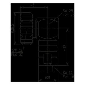 Разъем для фидерных кабелей BN 847373