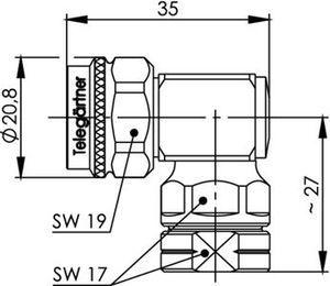 Разъем для фидерных кабелей J01020D0141