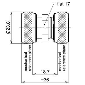 Внутрисерийный ВЧ адаптер BN 432018