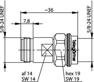 Внутрисерийный ВЧ адаптер J01024A0009