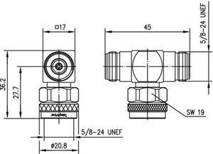 Внутрисерийный ВЧ адаптер J01024J1120