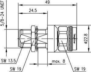 Грозоразрядник с газовой капсулой J01028A0047
