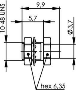 Разъем для полужёстких кабелей J01390A0011