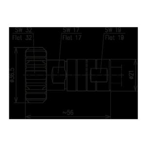 Разъем для фидерных кабелей BN 847339