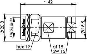 Разъем для фидерных кабелей J01020A0153